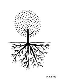 how to draw trees by austin kleon