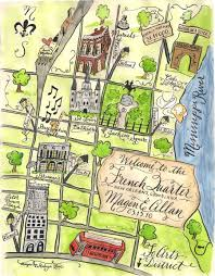 New Orleans On Map Outline Map Of New Orleans Whimsical Google Search Wedding