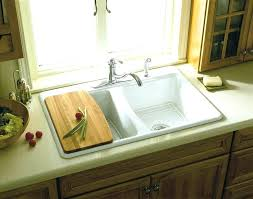 overmount sink on granite overmount kitchen sink granite hambredepremios co