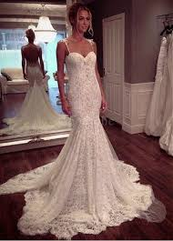 robe sirene mariage robe de mariée bretelles spaghetti naturel sirene décoration