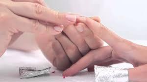 essie gel nail polish removal tutorial youtube