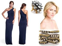 bridesmaid dresses that are midnight blue