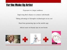 make up artist app fab up make up artist presentation