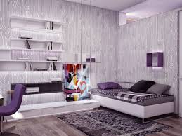 Bedroom Purple Wallpaper - 25 wallpaper ideas on how you design the walls at home u2013 fresh