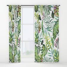 bananaleaf window curtains society6