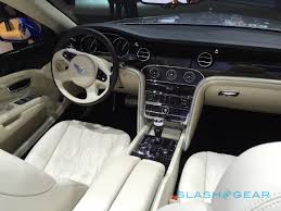bentley inside 2015 maybach who bentley brings true opulence to la slashgear