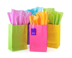 gift paper tissue different ways to fold tissue paper in gift bags ideas