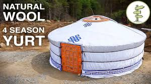 best low cost tiny house alternative the mongolian yurt youtube
