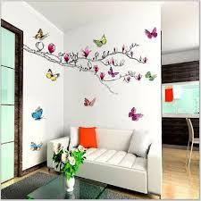 stickers de pour chambre walpus stickers muraux pour chambre d enfant magnolia papillons