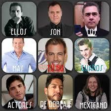 William Levy Meme - dopl3r com memes ellos son los actores de doblaje mexicanos más