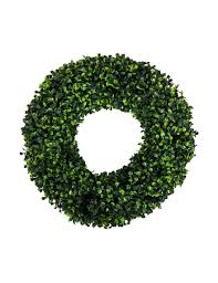 artificial boxwood wreath trademark global 16 5 artificial boxwood wreath stage stores