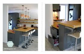 cuisine ouverte avec bar dezign you maison conviviale cuisine ouverte avec bar bois