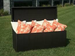 outdoor wicker storage cabinet outdoor wicker storage bench duluthhomeloan