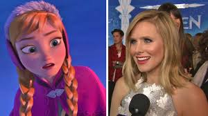 kristen bell talks playing disney princess theme u0026 39