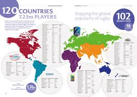 Rio On World Map Rugby Impact Beyond Rio 2016 Aists