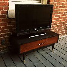 Midcentury Modern Tv Stand - mid century modern walnut tv stand media console urban dwellers