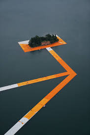Floating Piers by Floating Piers Christo And Jeanne Claude Christo Pinterest