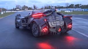 lamborghini hummer batmobile rich people build a one off carbon fiber batmobile to take on a