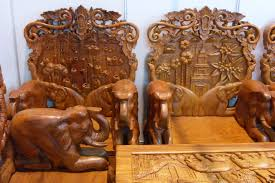 Wooden Furniture File Mobilier Laos Jpg Wikimedia Commons