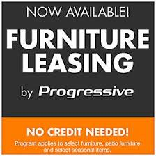 no credit needed furniture leasing by progressive at big lots