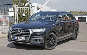 Audi Q7 Diesel - upcoming audi sq7 could sport a 430 hp 4 0 litre v8 diesel engine