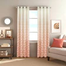 coral fabric shower curtains pattern patterned when u2013 apartment