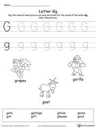 recognize uppercase and lowercase letter g myteachingstation com