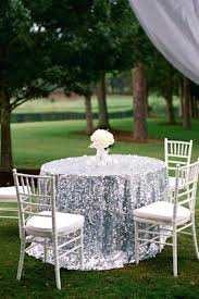 Cheap Table Linens For Rent - sparkly wedding table linens silver glitter table linens champagne