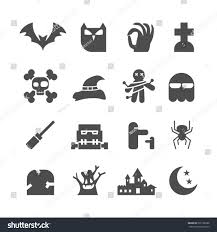 vector halloween halloween icons set vector stock vector 291766388 shutterstock