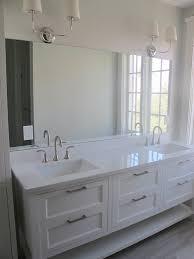 unique 30 white quartz bathroom counter decorating design of
