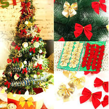 christmas tree bow topper christmas trees with bows gold christmas tree bows uk