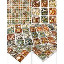 mosaic tile sheets kitchen backsplash tiles glazed ceramic floor