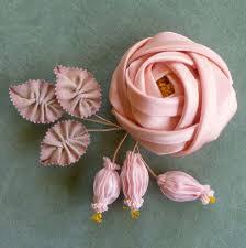 silk ribbon roses antique silk satin ribbon vintage passementerie antique