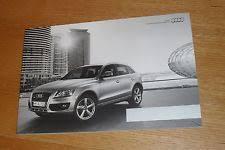 audi q5 brochure audi q5 3 0 tdi quattro in vehicle parts accessories ebay