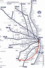 Chicago Union Station Map by Metra