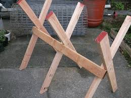Firewood Saw Bench Diy Sawbuck Bench