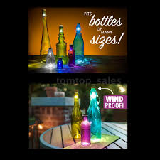 Wine Bottles With Lights 10 X Cork Usb Rechargeable Led Night Light Super Bright Wine