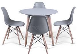 table ronde et chaises table ronde de cuisine table a manger carree avec rallonge