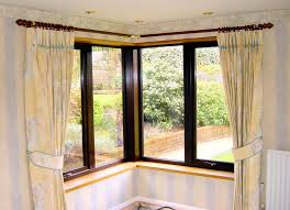 Curtains Corner Windows Ideas Smartness Corner Curtains Window Styles Of Decorating Ideas