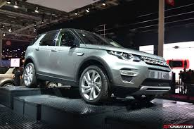 land rover car 2014 paris 2014 2015 land rover discovery sport gtspirit