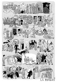 complete story harry potter illustrated 8 posters