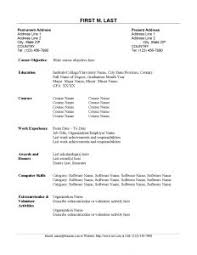 Objectives Examples For Resumes by Great Resume Layout Good Resume Formatting Best Resume Format