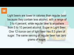 bud light beer calories how much sugar is in a can of bud light youtube