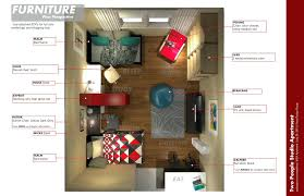 furniture layout for studio apartment u2013 kampot