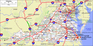virginia map map of va va map map of virginia virginia map map of va
