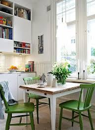 Stunning Green Kitchen Chairs Photos Amazing Design Ideas - Green kitchen table