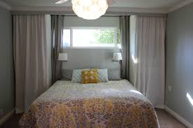 White Curtains With Yellow Flowers Fantastic Summer Bedroom Decoration Featuring White Yellow Floral