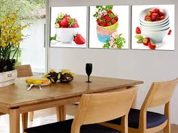 painting for kitchen unframed fruit strawberry canvas painting modern wall paintings for