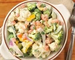 comment cuisiner chou fleur recette de salade caesar allégée au chou fleur et brocoli