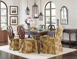 Slipcovers For Dining Chairs Dining Chair Seat Covers With Ties Dining Chair Skirt Denim